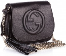 Женская сумка  Gucci Soho Chain Shoulder Bag