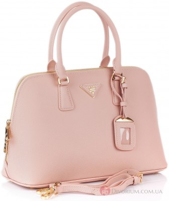 Женский портфель  Prada Saffiano Leather Top Handle Bag Prada Saffiano Leather Top Handle Bag