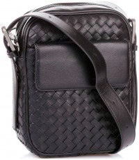 Мужская сумка  Bottega Veneta Intrecciato VN Cross Body Messenger